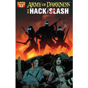 ARMY OF DARKNESS HACK SLASH #3 VF/NM COVER B DYNAMITE STEVE NILES