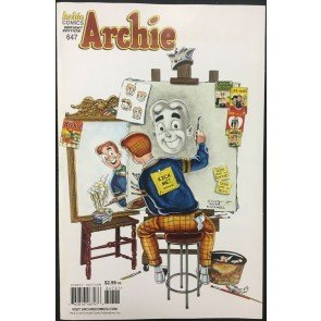 Archie Comics (1942) #647 VF/NM (9.0) Jeff Schultz Norman Rockwell variant