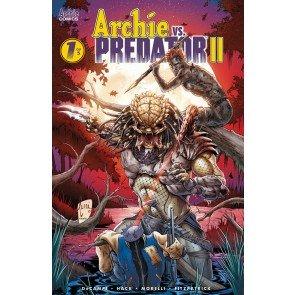 Archie vs. Predator II (2019) #1 of 5 VF/NM Archie Billy Tucci Variant Cover