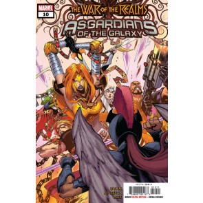 Asgardians of the Galaxy (2018) #10 VF/NM War of the Realms