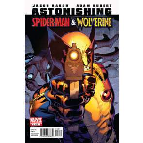 ASTONISHING SPIDER-MAN & WOLVERINE #2 VF/NM ADAM KUBERT