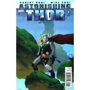 ASTONISHING THOR (2011) #1 VF ESAD RIBIC COVER