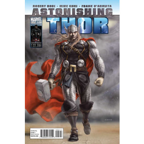 ASTONISHING THOR (2011) #5 VG/FN MIKE CHOI COVER