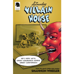 ASTOUNDING VILLAIN HOUSE ONE-SHOT VF/NM DARK HORSE SHANNON WHEELER