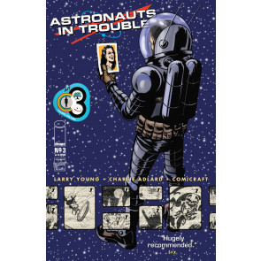 ASTRONAUTS IN TROUBLE (2015) #3 OF 11 VF/NM CHARLIE ADLARD IMAGE COMICS