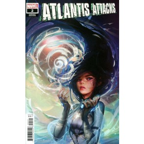 Atlantis Attacks (2020) #2 VF/NM MoNa Chinese New Year Variant Cover