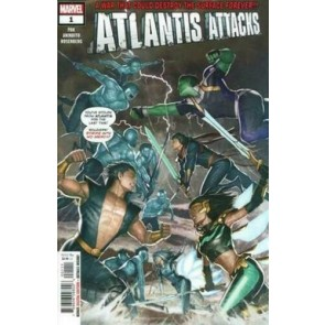 Atlantis Attacks (2020) #1 VF/NM Greg Pak