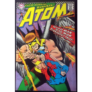 Atom (1962) #31 VF- (7.5) Hawkman appearance & cover