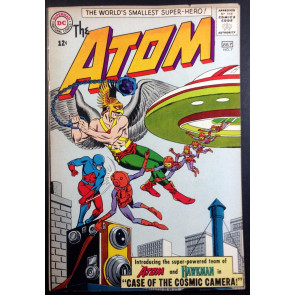 Atom (1962) #7 FN/VF (7.0) 1st Atom/Hawkman team up and early SA Hawkman app.