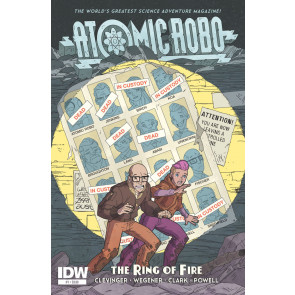 ATOMIC ROBO AND THE RING OF FIRE (2015) #1 VF+ - VF/NM IDW