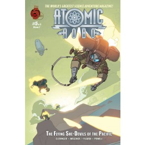Atomic Robo: The Flying She-Devils of the Pacific (2007) #5 of 5 VF/NM Red 5
