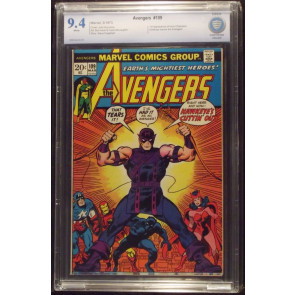 AVENGERS #109 CBCS 9.4 HAWKEYE QUITS WHITE PAGES