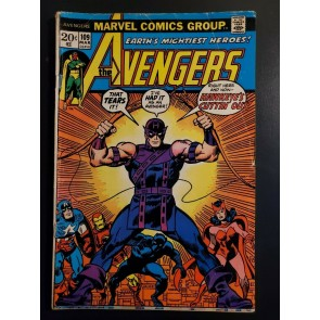 Avengers #109 (1973) VG- (3.5) Hawkeye picture frame cover  