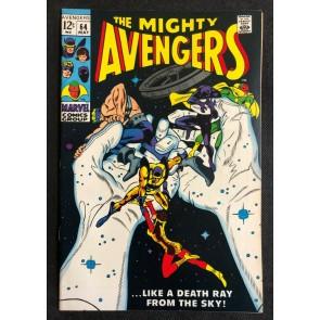 Avengers (1963) #64 FN+ (6.5) Gene Colan Goliath