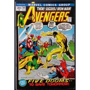 Avengers (1963) #101 VF- (7.5) Harlan Elison scripts
