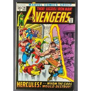 Avengers (1963) #99 VF+ (8.5) Barry Windsor-Smith Art John Buscema