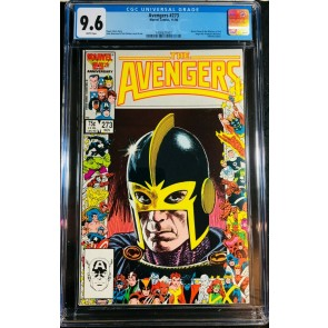 Avengers (1963) #273 CGC 9.6 Under Siege Part 4 of 8 (1400627007)