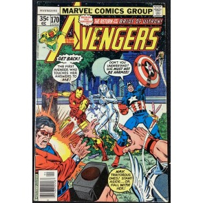 Avengers (1963) #170 VG+ (4.5) Korvac Saga part 5 of 12