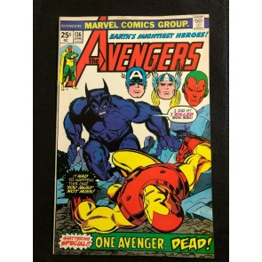 Avengers (1963) #136 FN/VF (7.0) Gil Kane Beast (Hank McCoy)