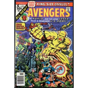 Avengers (1963) Annual #6 VF+ (8.5) Kirby cover