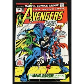 Avengers (1963) #107 VF- (7.5) Grim Reaper Cover