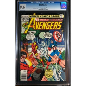 Avengers (1963) #170 CGC 9.6 Korvac Saga Part 5 of 12 (0767227004)