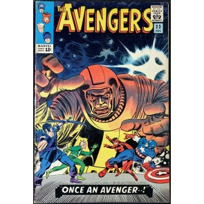Avengers (1963) #23 FN+ (6.5) vs Kang part 1 of 2