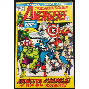 Avengers (1963) #100 VF- (7.5) Barry Smith cover & art