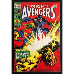 Avengers (1963) #65 VG/FN (5.0) Gene Colan Swordsman
