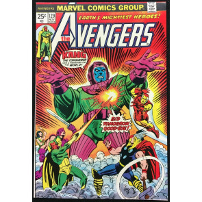 Avengers (1963) #129 NM (9.4) Kang cover and story