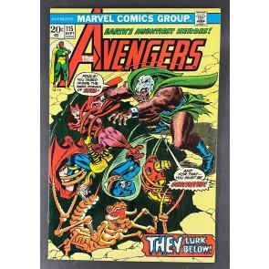 Avengers (1963) #115 FN/VF (7.0) 1st App Skol John Romita Sr