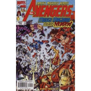 AVENGERS (1998) #'s 8, 9, 10, 11, 12, 13, 14, 15 CLEAR AND PRESENT DANGERS SET