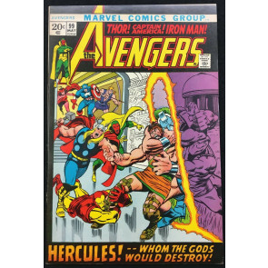 Avengers (1963) #99 VF- (7.5) Barry Smith cover & art