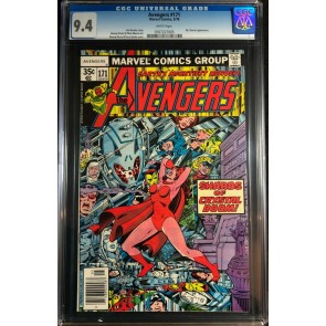 Avengers (1963) #171 CGC 9.4 Korvac Saga Part 6 of 12 (0767227005)