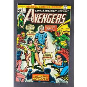 Avengers (1963) #123 VF+ (8.5) Origin Mantis 1st Cameo Star Stalker