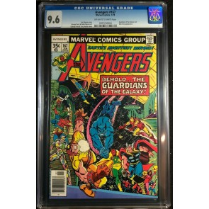 Avengers (1963) #167 CGC 9.6 Korvac Saga Part 2 of 12 GOTG Cover (0767230004)