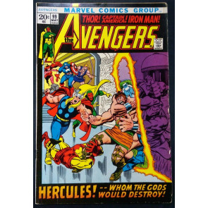Avengers (1963) #99 VG/FN (5.0) Barry Smith cover and art