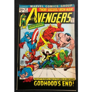 Avengers (1963) #97 FN/VF (7.0) Gil Kane