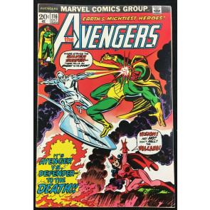 Avengers (1963) #116 VF- (7.5) Avengers Defenders War part 3 of 8