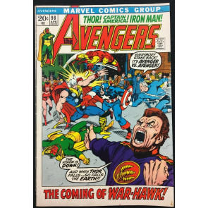 Avengers (1963) 98 FN+ (6.5) Barry Smith cover & art