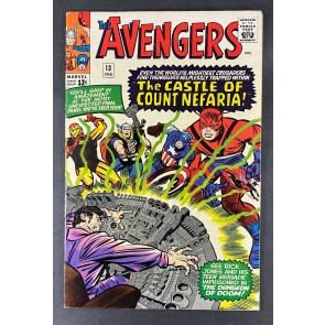 Avengers (1963) #13 FN- (5.5) 1st App Count Nefaria Jack Kirby Don Heck