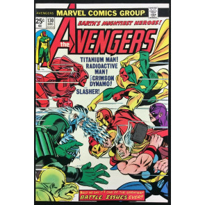 Avengers (1963) #130 NM- (9.2) vs Radioactive Man Crimson Dynamo & Titanium Man