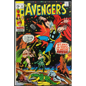 Avengers (1963) #84 VF (8.0) versus Enchantress