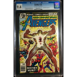 Avengers (1963) #176 CGC 9.4 Korvac Saga Part 11 of 12 (0808440013)