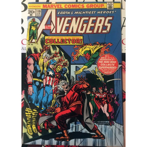 Avengers (1963) #119 VF- (7.5) 1st Collector cover