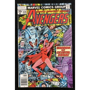 Avengers (1963) #171 FN+ (6.5) Korvac Saga Part 5 of 11
