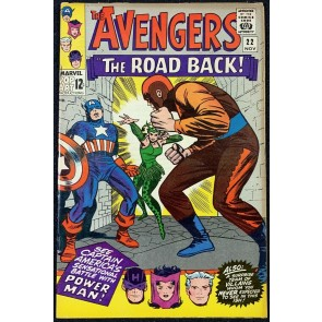 Avengers (1963) #22 FN+ (6.5) Power Man & Enchantress cover