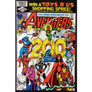 AVENGERS (1963) #200 VF/NM (9.0) GEORGE PEREZ COVER AND ART