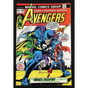 Avengers (1963) #107 VF- (7.5) Vs Grim Reaper