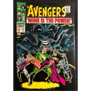 Avengers (1963) #49 VF- (7.5) John Buscema 1st Appearance Typhon